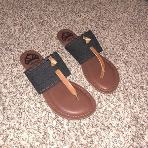 Leather sandals from DSW